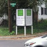 North Houston Real Estate Signs post panel outdoor real estate 150x150